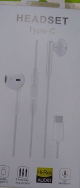 Type C Headset|Earphone (MOQ:6P)