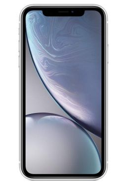 Apple iPhone XR 128GB White (includes EarPods, power adapter)