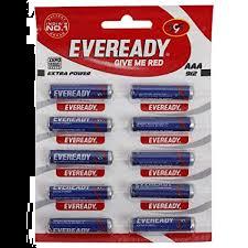 EVEREADY Battery AAA Size/ Pack of 100 Pcs. (MOQ:1 Box)
